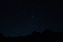 瑞牆山と夏の星空