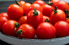 Small Red Ripe Sweet Enjoy Che...
