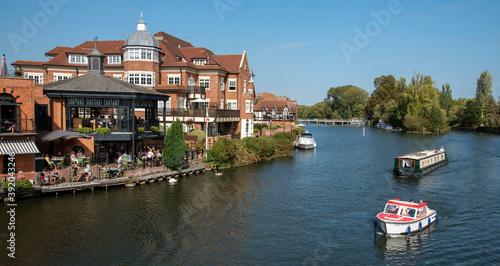 Fototapeta River Thames at Windsor, Berkshire, England, UK