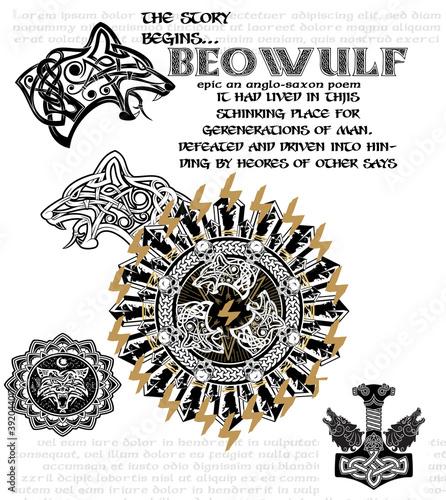 Carta da parati beowlf