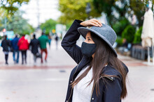 Young Woman Wearing Protective...