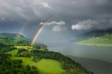 Beautiful Double Rainbow In Lu...