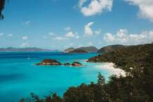 Stunning View Of Trunk Bay On ...