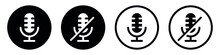 Microphone Icon, Mute