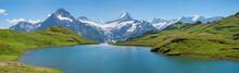 Idyllic Alpine Lake Bachalpsee...