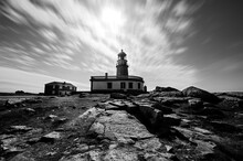 Galician Lighthouse Under A Se...