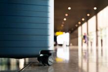 Suitcase In Airport Departure ...