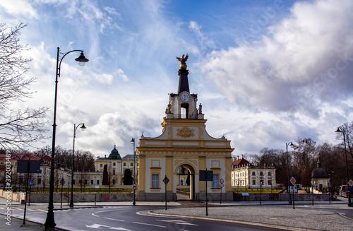Fototapeta Zabytkowe centrum Białegostoku, Podlasie, Polska