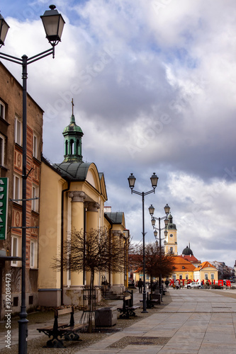 Fototapety, obrazy: Zabytkowe centrum Białegostoku, Podlasie, Polska