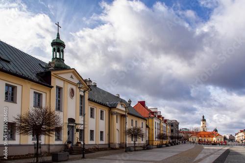 Fotografia, Obraz Zabytkowe centrum Białegostoku, Podlasie, Polska