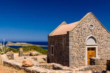 Beautiful Greek Church Next To...