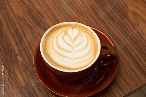 Foto cup of cappuccino