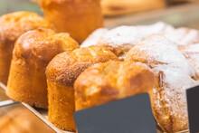 Freshly Baked Muffins On A Bak...