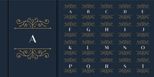 Set Of Initial Letter Luxury O...