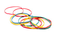 Colorful Rubber Band Pile Isol...