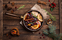Christmas Mulled Red Wine With...