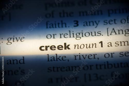 Fotografia creek