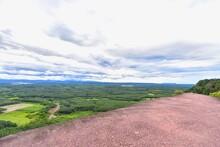 Three Whale Rock Cliffs Or Hin Sam Wan In Phu Sing National Park