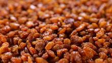 Close Up On Raisin- Dried Frui...