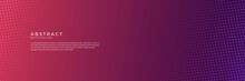 Modern Shiny Glossy Reddish Pink Purple Orange Abstract Banner Background