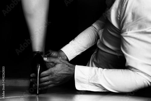 rapporto amore perversione sessuali eleganti Canvas Print