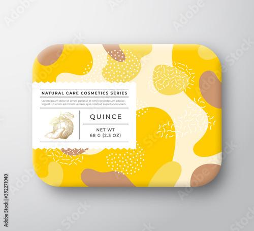 Fototapeta Fruits Bath Cosmetics Box