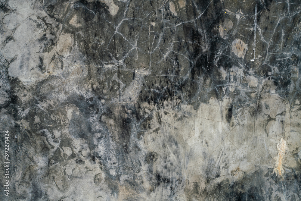 Fototapeta Abstract blank dark gray cement concrete texture wall