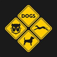 Deisgn Of Dog Sign
