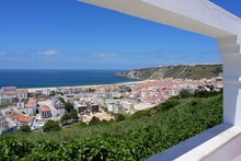 View Over Nazare And The Atlan...