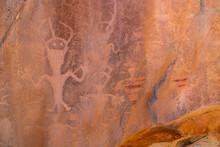Petroglyphs, Fremont Culture, ...