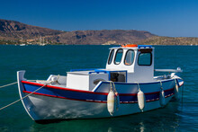 Colorful Wooden Fishing Boat I...