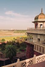 Overlooking The Taj Mahal Mausoleum