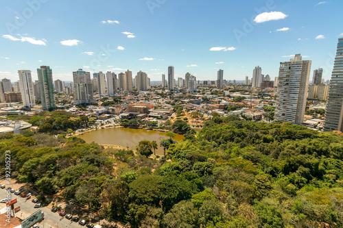 Billede på lærred Parque vaca brava Goiânia