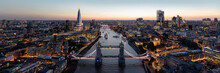 The London Skyline And Tower B...