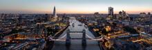The London Skyline And Tower Bridge