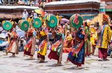 Dancers In Hemis Festival, Ladakh
