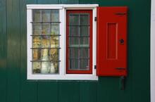Window Of Historic Dutch House