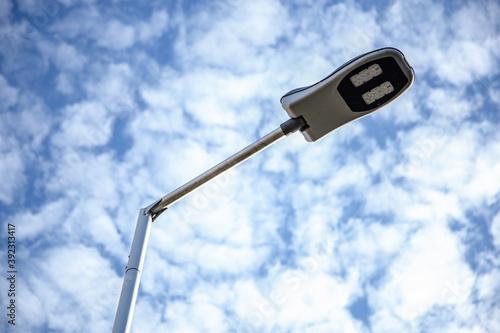 oświetlenie uliczne led - fototapety na wymiar