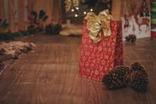 Presentes De Natal Com Bokeh
