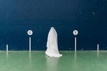 Ghost On Pelota Court.