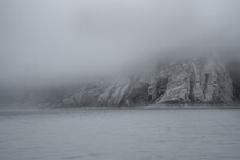 Cliffs In The Fog