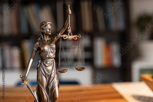 legal lawyer law justice modern symbol balance Canvas