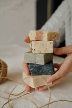 Hobby To Make A Beautiful Hand Made Natural Soap From Environmental Products