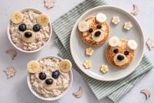 Kids Breakfast Oatmeal Porridg...
