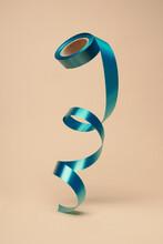 Blue Ribbon For Gift