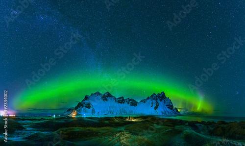 Obraz na plátně Aurora boreal