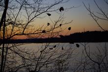 Sunset At Loch Raven Baltimore...