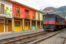 Ecuador, In The Village Of Ala...