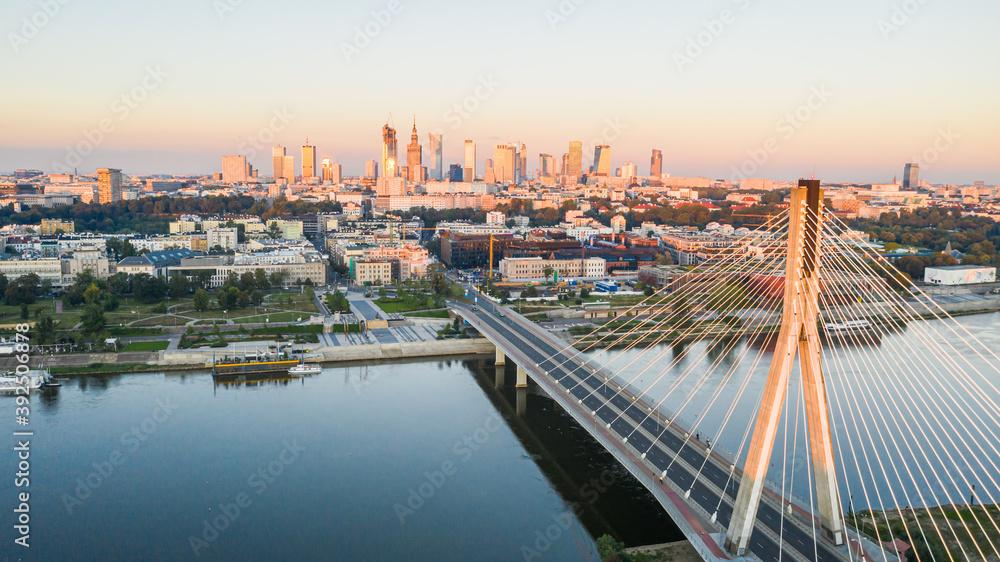 Fototapeta Warsaw Bridge