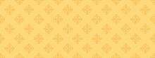 Seamless Pattern, Yellow Wallpaper Texture